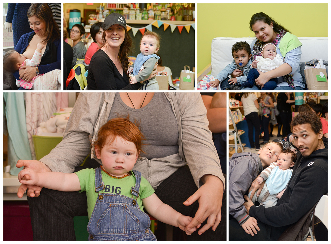 Images of the 2014 Breastfeeding Challenge hosted by Melons and Clementines photographed by Tanis Saucier Photography